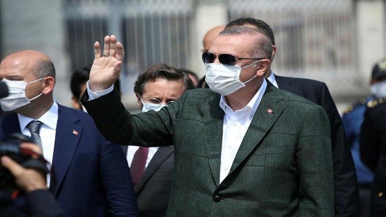 صورة رسالة عاجلة للرئيس أردوغان بمناسبة ذكرى عيد النصر