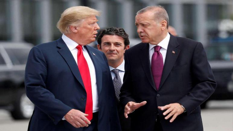 صورة الإعلان عن اتفاق تركي أميركي في سوريا