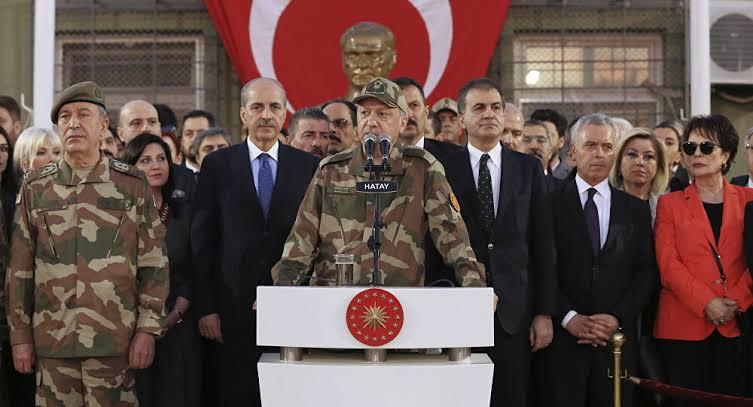 """صورة أردوغان"""" يخرج عن صـ.ـمته ويوجه تصريحات نـ.ـارية بشأن  سوريا"""
