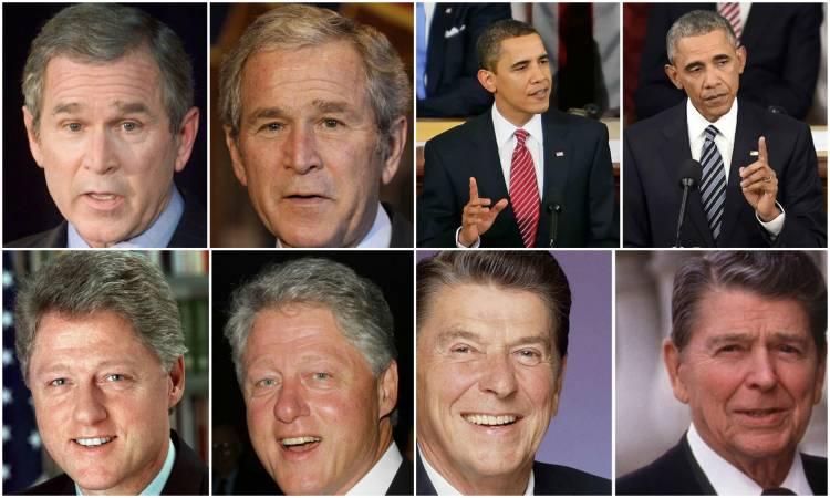 صورة بوش تقيأ خلال عشاء رسمي وكيندي زير نساء.. 12 حقيقة مثيرة عن رؤساء أميركا