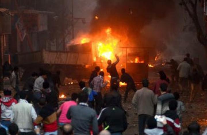 """صورة نصرة للحبيب محمد.. مولـ.ـوتوف وقـ.ـنابل"""".. """"شاهد"""" حـ.ـرب حقيقية تندلع في مصر"""