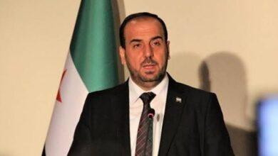 """صورة شاهد.. وثيقة مسربة تكشف علاقة مخابرات الأسد بـ""""نصر الحريري"""" رئيس الائتلاف السوري"""