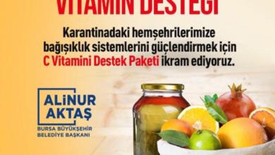 """صورة بلدية تركية تبدأ بتوزيع """"سلة الفيتامينات"""" وتخصص رقم للتسجيل عليها"""