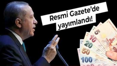 صورة إصدر القرار.. بأمر من الرئيس أردوغان بزيادة قدرها 21.56 بالمائة بدءا من هذا الشهر