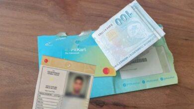 صورة خبر سار من مركز الptt للسوريين الذين لم يحصلوا على مساعدة 1000 ليرة تركية