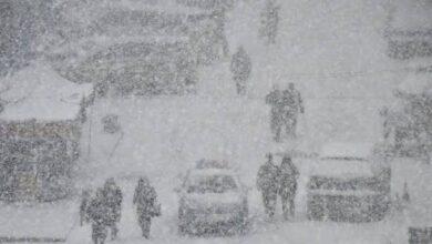 صورة تحذير عاجل لسكان ولاية تركية كبرى..ستبقى تحت تأثير الثلوج لمدة(7) أيام اعتباراً من هذا التاريخ
