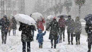 صورة ابتداءا من الغد.. استعدوا ياسكان تركيا..الأرصاد الجوية تحذر من موجة ثلوج كثيفة وعاصفة في هذه المناطق