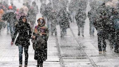 صورة عاجل : أخبار سارة .. الثلوج في 40 ولاية تركية ابتداء من الغد