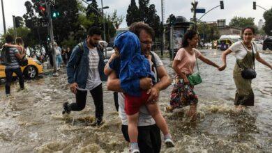 صورة فيضانات وأمطار غزيرة.. تحـ.ـذير شديد اللهجة من الأرصاد الجوية لأربعة ولايات تركية