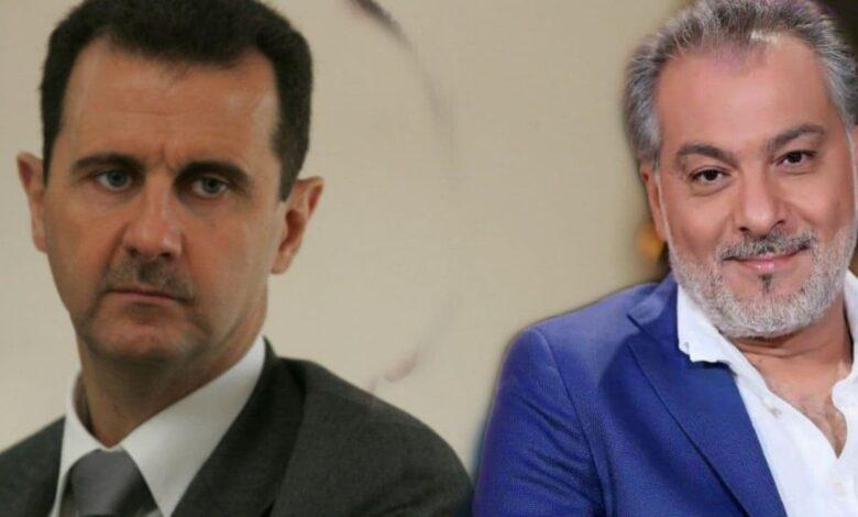 صورة بطريقة خبـ.ـيثة.. هكذا انتقـ.ـم بشار الأسد من الفنان الراحل حاتم علي!