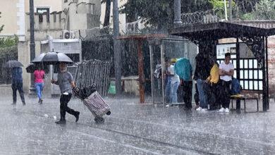 صورة الأرصاد الجوية التركية تُعلن عن هطول أمطار غزيرة وسيول في أكثر من(10) ولايات  غدا الأربعاء