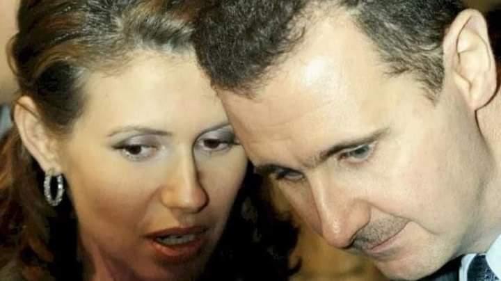 بشار الأسد و أسماء الأسد