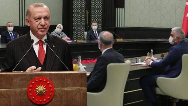 صورة عاجل : إنتهاء الإجتماع الوزاري المنتظر برئاسة أردوغان وإليكم أهم القرارات