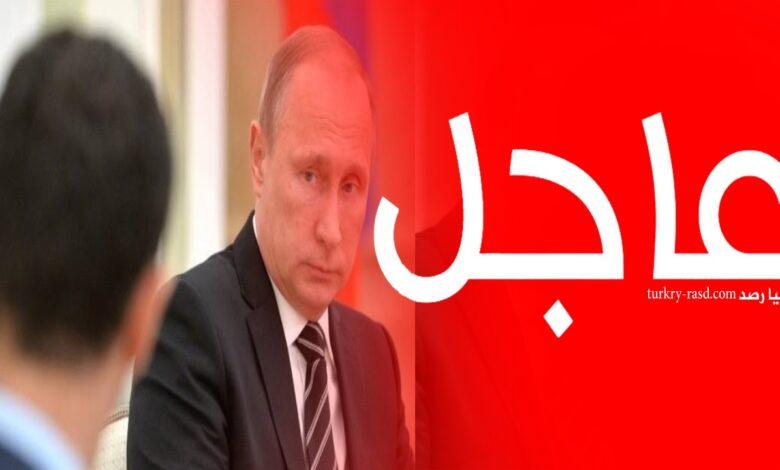 صورة تحرك روسي مفاجئ في سوريا وإهـ.ـانة غير مسبوقة للأسد
