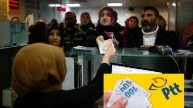 صورة إنتهى العناء.. خبر سار من مركز الptt للسوريين الذين لم يحصلوا على مساعدة 1000 ليرة تركية حتى الان