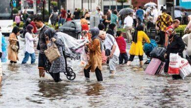 صورة الأرصاد الجوية التركية تحذر سكان هذه الولايات من أمطار غزيرة جداً وسيول محتملة في هذه الولايات غدا الإثنين