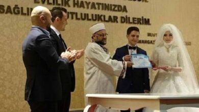صورة شرط جديد لزواج الفتيات ممن هن تحت سن الـ 18 في تركيا