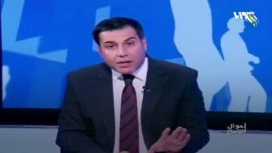 """صورة المذيع الموالي """"نزار الفرا"""" ينقلب على نظام الأسد ويتحدث على الهواء علنا"""