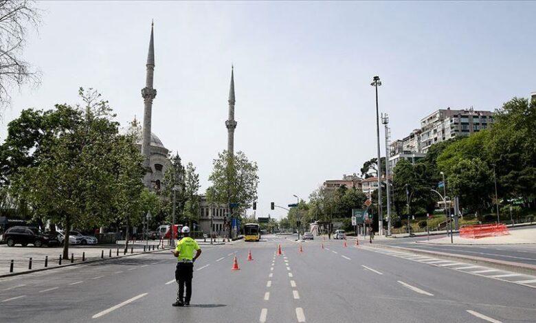 صورة عاجل: ولاية تركية  تعلن فرض حظر تجول على 35 منطقة حتى إشعار آخر