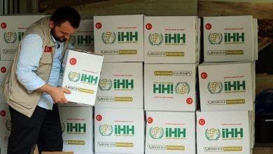 صورة هدية رمضان .. تركيا تبدأ توزيع سلل غذائية للسوريين