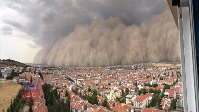صورة بروفيسور تركي يحذر من عـاصفة غبارية ستجتاح تركيا مساء اليوم وتستمر حتى هذا التاريخ!!