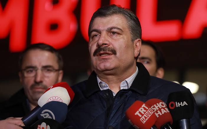 """صورة عاجل:"""" وزير الصحة التركي يجدد دعوته لسكان تركيا (تفاصيل عاجلة)"""
