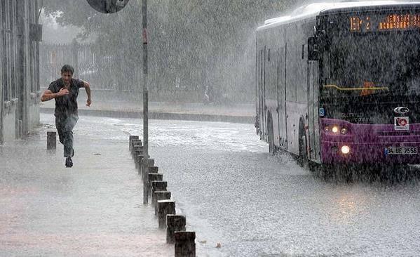 صورة احذروا : مديرية الأرصاد الجوية التركية تحذر من أمطار وعواصف رعدية في هذه المناطق
