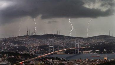 صورة استعدوا..تحذير هام من الأرصاد الجوية امطار وعواصف رعدية قوية في 5ولايات تركية