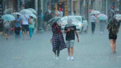 صورة عاجل : الأرصاد تحذّر من سيول و أمطار غزيرة غداً في هذه الولايات التركية