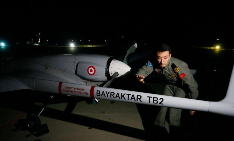 صورة مشاهد لفشل منظومة روسية في استـ.هداف مسيّرة تركية (شاهد)