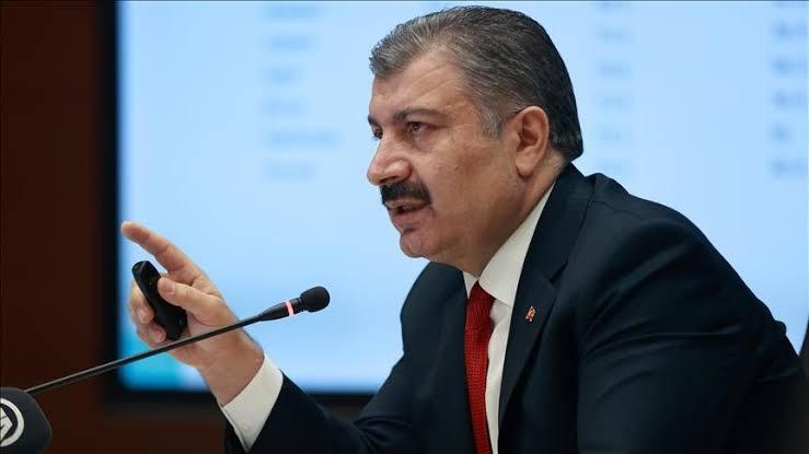 صورة قرار جديد وعاجل   من وزير الصحة التركي بدءاً من اليوم الأربعاء