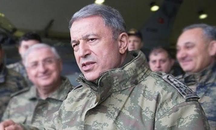 صورة قائد الجيش التركي يصرح حول انفراجة قادمة في سوريا ومنطقة لها دور ومستقبل كبير