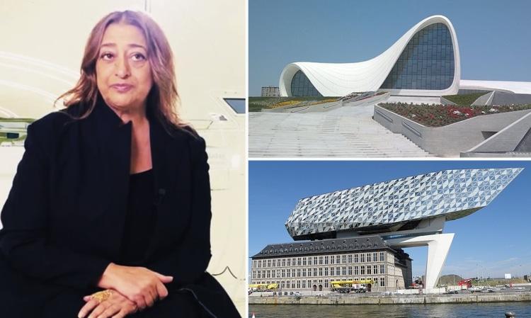 صورة أقـ.ـوى معمارية في العالم.. تعرف على زها حديد صاحبة التصـ.ـميمات الخيالية (صور وفيديو)