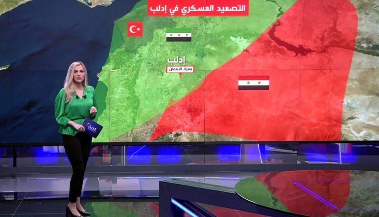 صورة تغيير بخريطة السيطرة في سوريا وهذه المنطقة هي الثمن👇👇