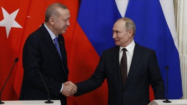 صورة بعد لقاءه ببشار في موسكو بوتين يلتقي بالرئيس أردوغان ومصـ.ـير سوريا قد حسـ.ـم خلال اللقائين